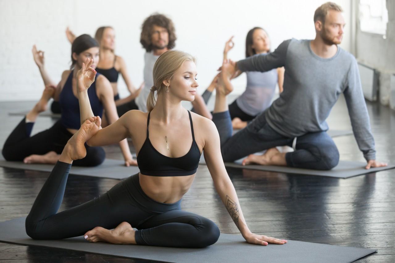 ヨーガ 瞑想 ポージング